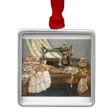 sewing machine ornaments keepsake ornaments zazzle