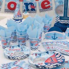 1st birthday party supplies nautical party supplies ebay
