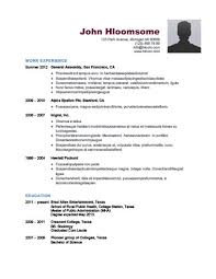 Public Health Resume Sample by Simple Resume Templates 75 Examples Free Download