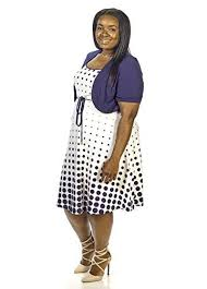 sandra darren womens plus size full figured dress with shrug