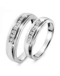 www weddingring lk 1 2 ct t w diamond trio matching wedding ring set 14k white gold