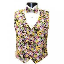mardi gras vests mardi gras jesters tuxedo vest and bow tie at men s