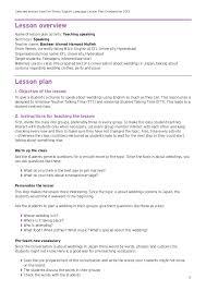 lesson plan example mood music lesson plan sample pdf template