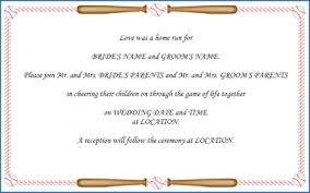 baseball wedding invitations baseball wedding invitations template best template collection