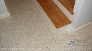 concrete epoxy floors with color flake paint chips