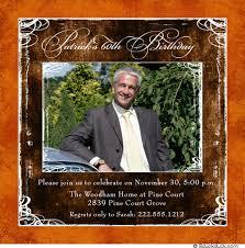 square photo 60th birthday invitation papa u0027s party images