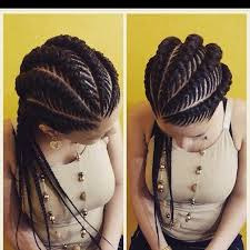 african fish style bolla hairstyle with braids lovely banana braids http community blackhairinformation com