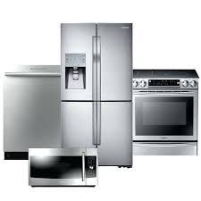 Stainless Steel Kitchen Appliance Package Deals - stainless steel kitchen appliance package home depot bundles sears
