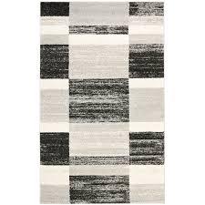 black rectangle l shade shop safavieh retro shades black light gray indoor distressed area