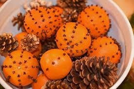 orange clove pomanders fig
