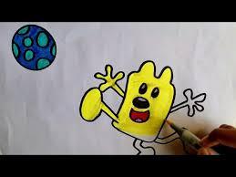 wow wow wubbzy draw coloring pages wubbzy for kids wubbzy