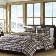 flannel duvet cover sets you u0027ll love wayfair