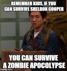 Walking Dead Meme Generator - glenn had a terrible life remember kids if you can survive