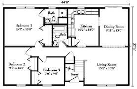 open floor house plans ranch style ranch style home floor plans 54 home floor plans with basement ranch