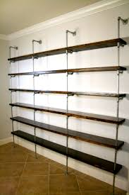 pipe shelves farmhouse shelving pipe shelving custom