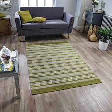Pacific Mat Laminate Flooring Pacific 129 X Green Striped Rug Therugshopuk