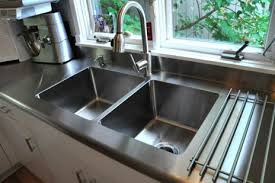 Stainless Steel Integrated Sink Really Like The Integrated Sink And