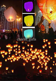 candle balloon 2017 sky lantern fay balloon wishing l paper sky