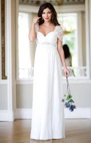 pregnancy wedding dresses silk maternity wedding gown ivory maternity wedding