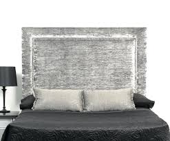 tall headboards king and size tufted upholstered headboard