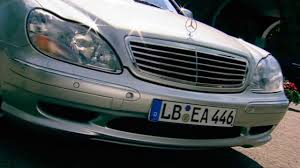 mercedes benz s55 amg w220 1999 youtube