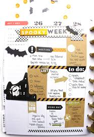 halloween party planner the happy planner spooky week u2014 me u0026 my big ideas