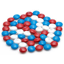 Red White And Blue Chocolate Red White And Blue M U0026m Milk Chocolate Candy