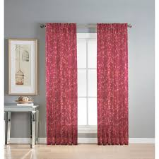 Sheer Burgundy Curtains Burgundy Sheer Curtains Home Design Ideas And Pictures