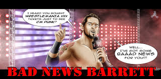 Bad News Barrett Meme - bad news barrett cm punk by roselyne777 on deviantart