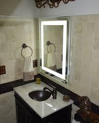 wall vanity mirror with lights lighted vanity mirror