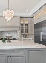 what color countertops go with light grey cabinets gray cabinets with marble countertops tile