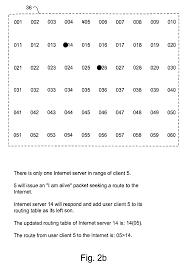 brevet us8000314 wireless network system and method for