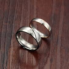 Wedding Rings For Men by Engraved Titanium Wedding Rings For Men And Women Personalized