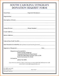 6 donation form templates bussines proposal 2017