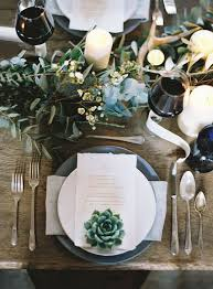 Wedding Breakfast Table Decorations Best 25 Succulent Table Decor Ideas On Pinterest Indoor Plants