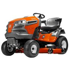 shop husqvarna yta24v48 24 hp v twin automatic 48 in riding lawn