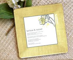 wedding invitation plate keepsake wedding invitation tray decoupage plate keepsake memento