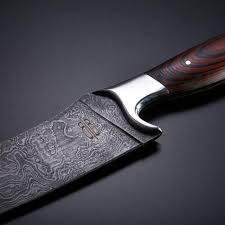 damascus kitchen knives kitchen knife bucknbear kitchen knives