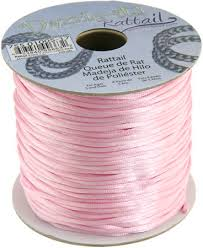 rattail cord mm rattail cord light pink