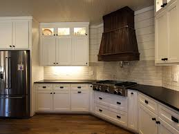Farmhouse Style Kitchen Brickwork Tile Backsplash In Studio From - Daltile backsplash