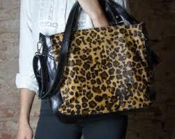 Cowhide Leather Purses Cowhide Bag Cow Hide Purse Brown Leather Bag Cow Leather