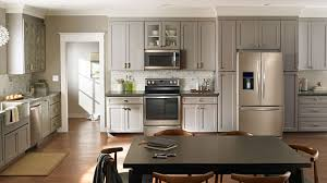 Kitchen Cabinets With White Appliances by Whirlpool Sunset Bronze The New Stainless Steel Appliances