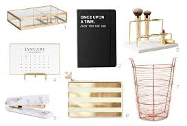 My Gold Desk Inspiration How To Style Your Work Desk In 3 Steps Make U0026mess