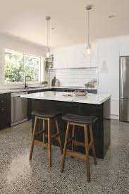 kitchen painted island refrigerator best kitchen design corner