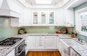 acrylic undermount kitchen sinks kitchen style classic beach kitchen mosaic backsplash white frame