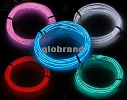 Led Strip For Car Interior 2017 Ghjb855 2m 12v Car Atmosphere Decorative Lamp El Car
