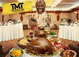 floyd mayweather my thanksgiving weigh in 100lbs of turkey