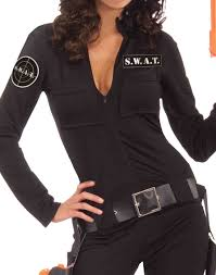 swat team halloween costumes woman of action s w a t team fbi womens hens party halloween