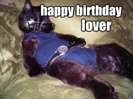Cat Lover Meme - happy birthday lover sexy cat quickmeme