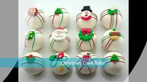 decorative cake balls
